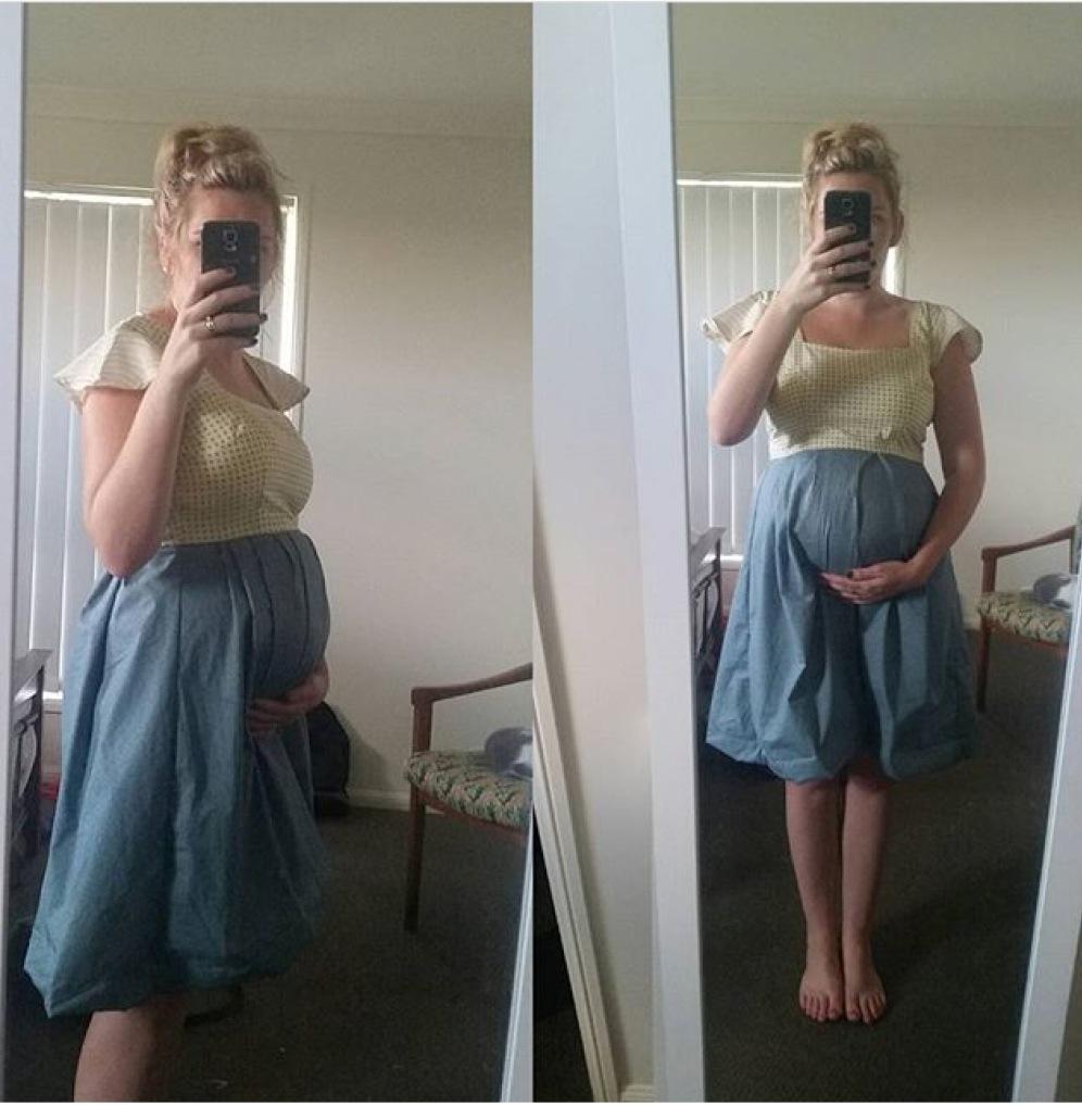 """Sweet Bo"" Maternity dress"