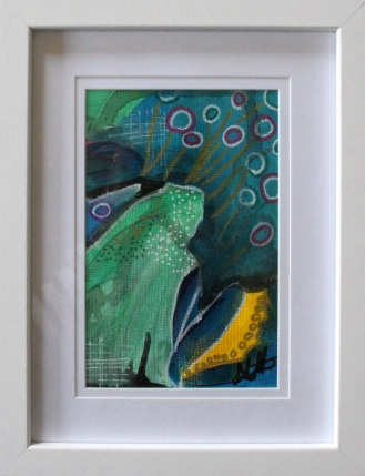 Rainforest Series Small IV (SOLD)